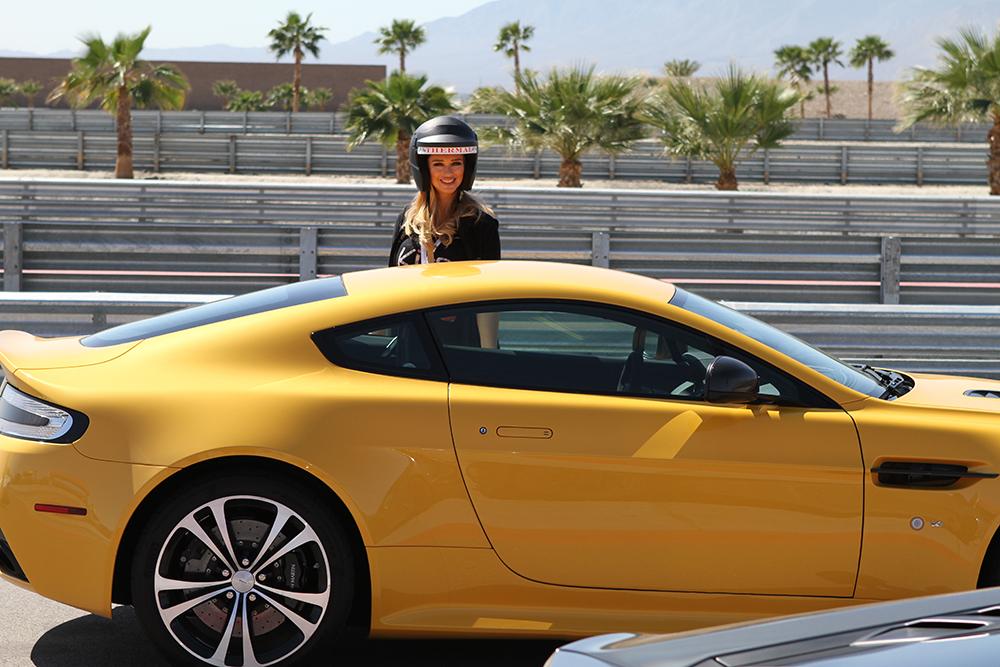 katarina van derham yellow car